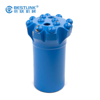 Normal Type Bench Drill Bits , Thread Button Carbide Rock Bits With Fast Penetration Rates