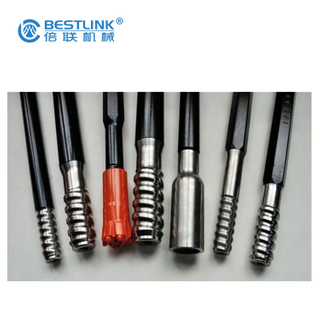 T38 Round MF Drill Extension Rod 1000mm-4400mm Length