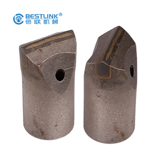 Tungsten Carbides Taper Chisel Bits for Stone Drilling Marble And Granite