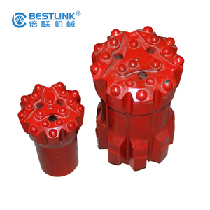 GT60-115mm Threaded Button Drill Bits Retrac And Uniface For Bench Drilling Tungsten Carbide