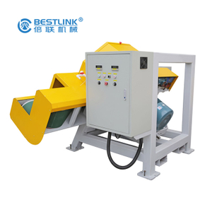 Multifunctional Cobble Mighty Thin Stone Plate Veneer Tiles Cutting Saw Machine Manufacturers 30HP 60HP