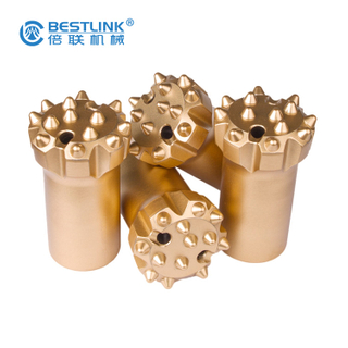 R32 T51 Rock Drill Bits Hard Rock Coal Mining Retract Thread Tungsten Carbide Button Bits