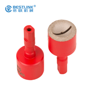 Bestlink Factory Price 9mm Shank Grinding Cups Button Bit Grinder For Ballstic And Domed Button