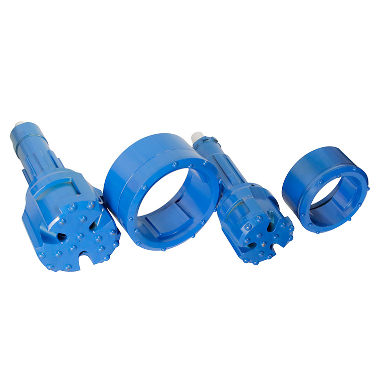 DTH Hammer Drilling Overburden Symmetric Casing Concentric Pilot Bit and Ring Bit with Casing Shoe